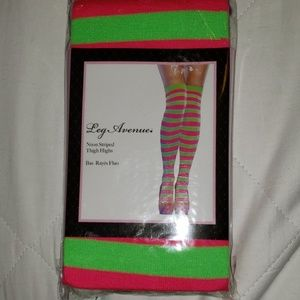 Leg Aveue festival thigh high socks